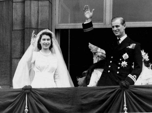 QUEEN & PRINCE PHILIP WEDDING DAY