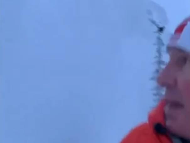 Skoro ga zatrpala lavina: Trčao po planini, planina ga otjerala...