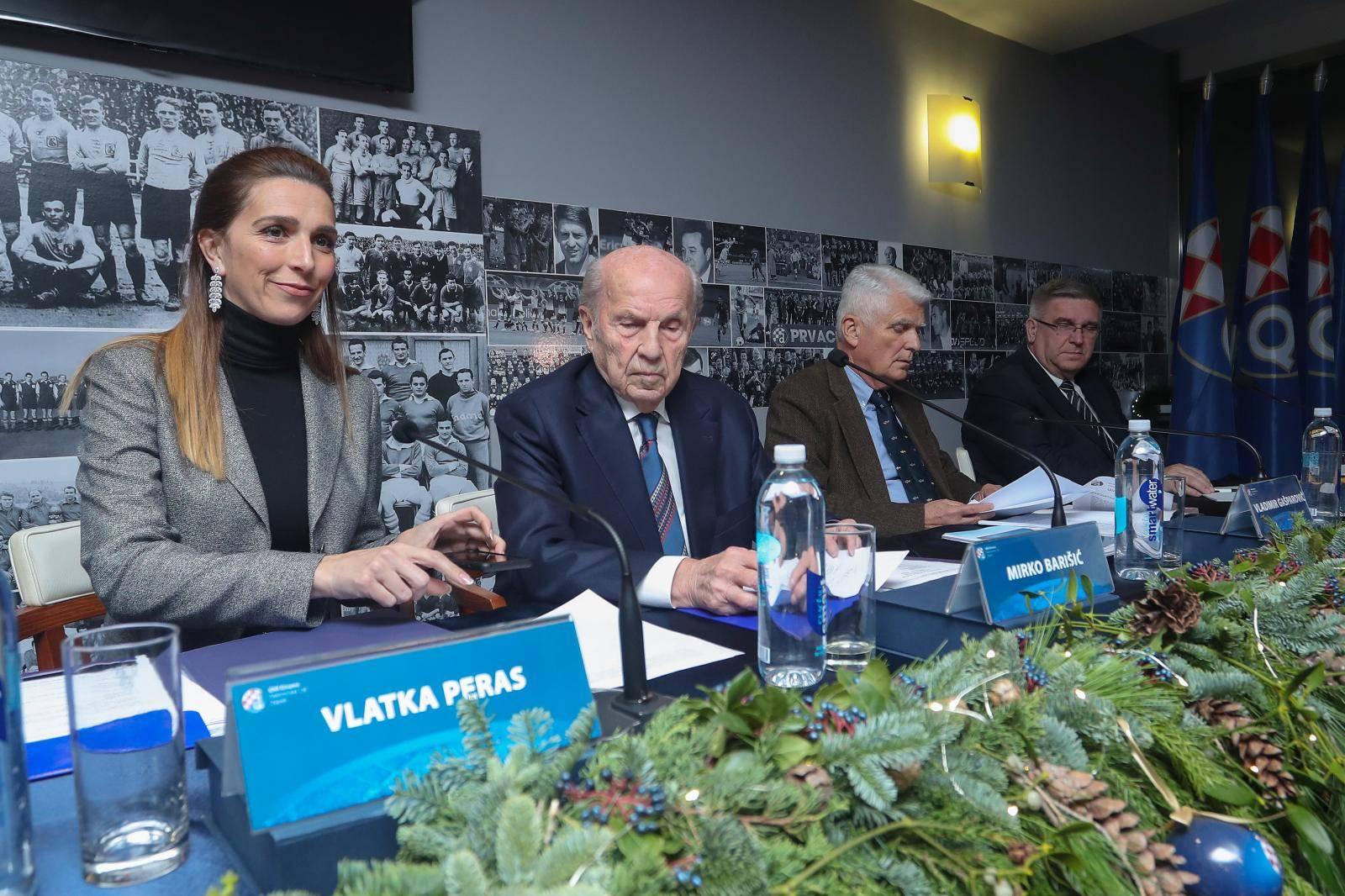 Zagreb: Godišnja skupština Dinama