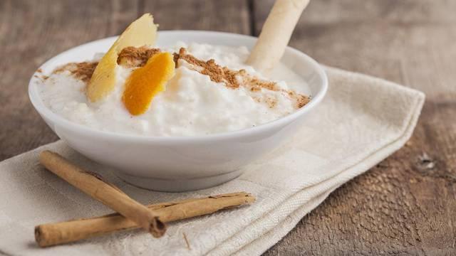 Domaći puding od riže, naranče i cimeta - jednostavno prefino