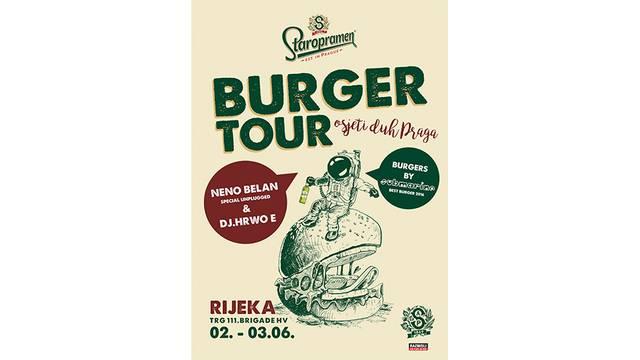 Tri razloga za posjetiti prvi Staropramen Burger tour