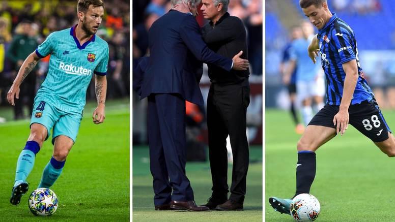 Rakitićeva utakmica odluke;  Mourinhov debi kod 'čekićara'