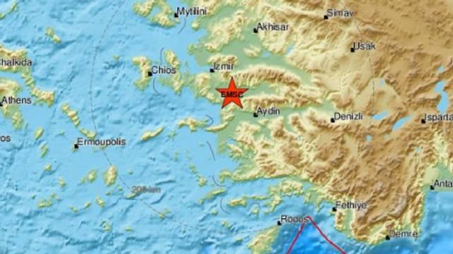 Višestruki potresi na grčkim otocima i zapadnoj obali Turske