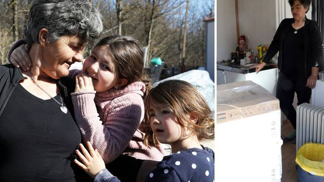 Baka Stana iz Majskih Poljana dobila sušilicu: 'Konačno će mi unuke imati suhu odjeću'