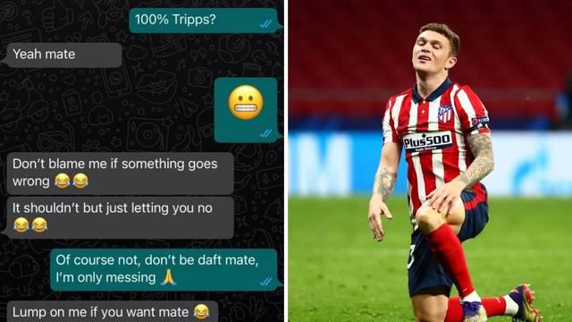 Objavljen transkript razgovora Trippiera i prijatelja: Sigurno idem u Atletico, trpaj na to