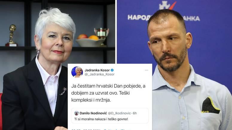 Kosor čestitala Oluju, pa dobila uvrede od bivšeg vaterpolista iz Srbije: 'Ti si nakaza i go**o!'
