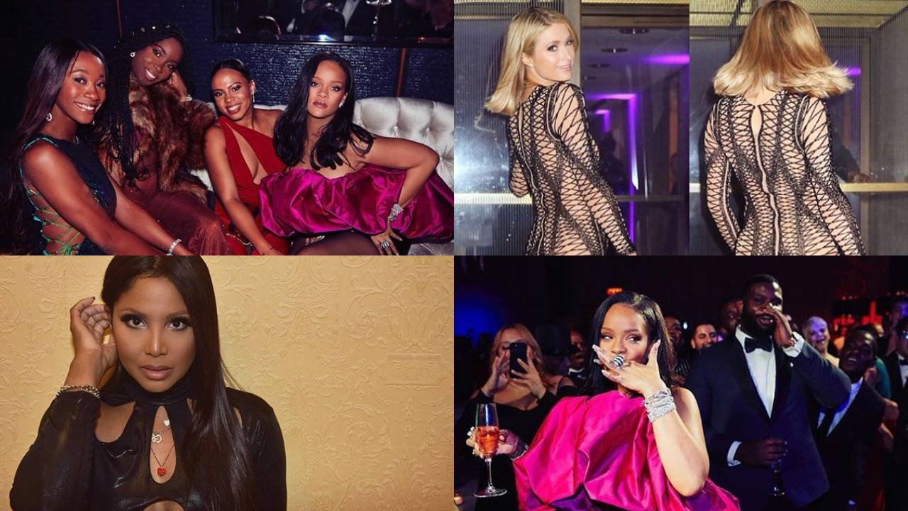 Rihanna proslavila 30-i, Hilton i Braxton pokazale su atribute