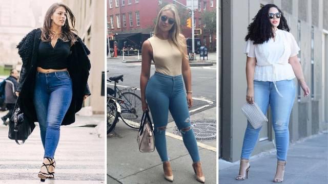 Savjeti za punije žene: Izgledat ćete mrak i u uskim trapericama