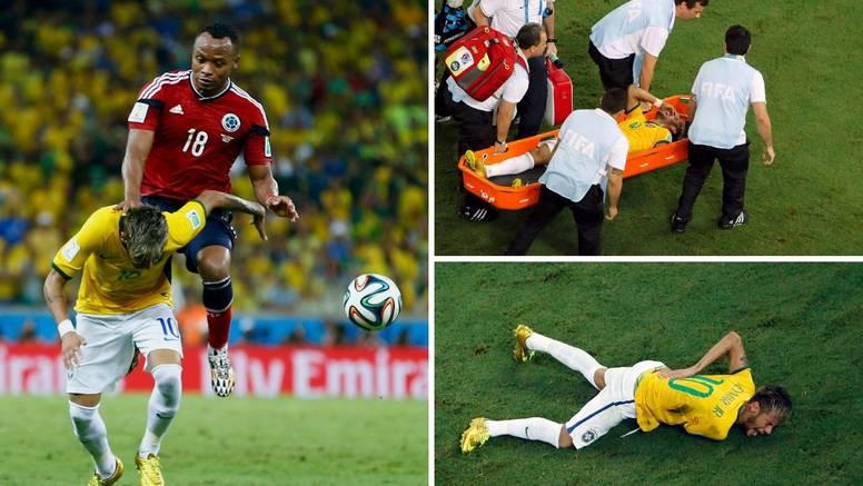 Potreseni Neymar: Nisam se mogao micati. Da me udario 2 cm dalje, ostao bih nepokretan!