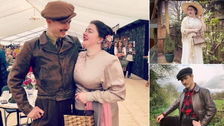 Prekrasan retro stil: Britanski par kao da je stigao iz prošlosti