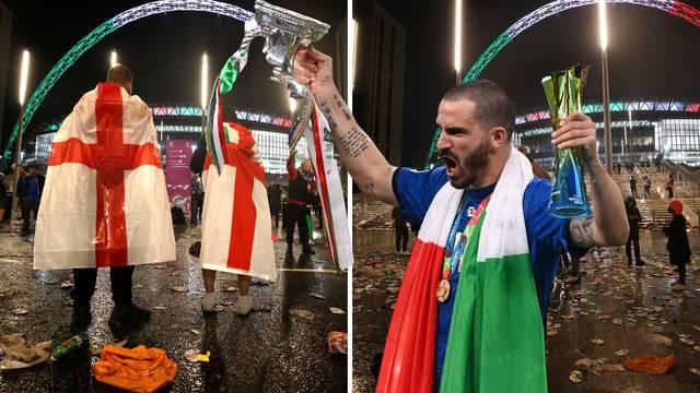 'Vidjeti kako 58.000 Engleza napušta Wembley... Uživancija!'