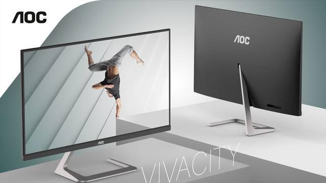 AOC-ov asimetrični monitor dizajnirali u Porscheovu studiju