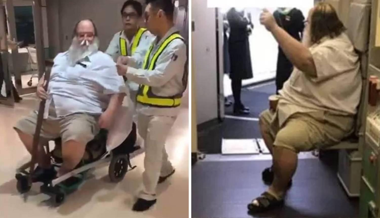 Prisilio stjuardese da mu brišu stražnjicu pa stenjao od užitka