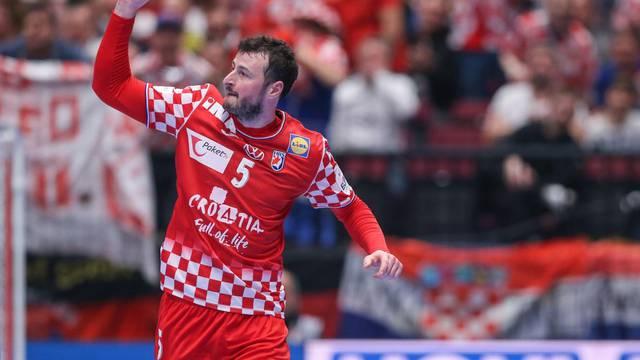 Hrvatska i Austrija susreli se u drugom krugu Europskog prvenstva u rukometu
