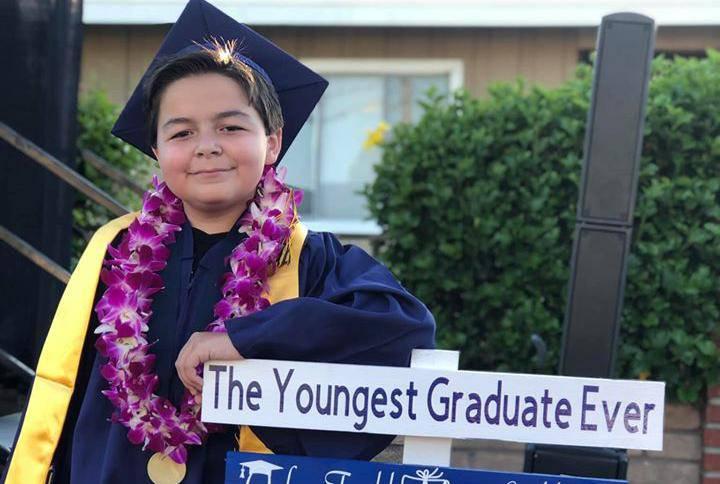 Ima 13 godina, četiri diplome i najmlađi je student na koledžu