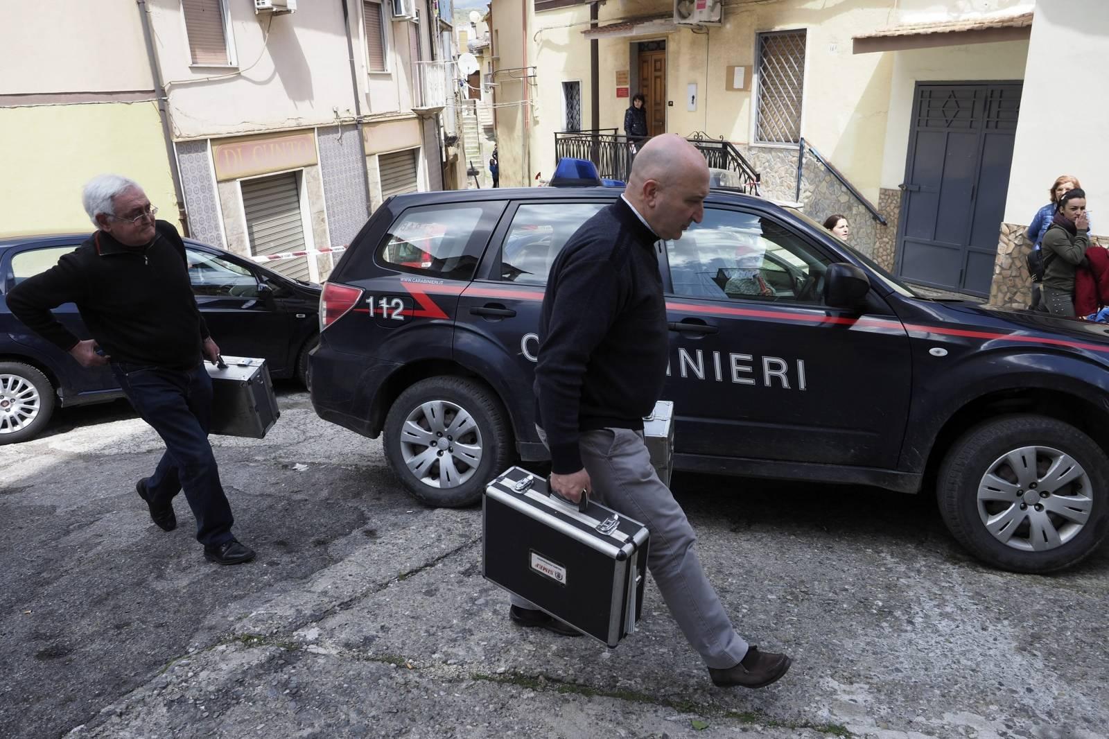 Romina Iannicelli, 44, was killed in her home in Cassano allo Ionio