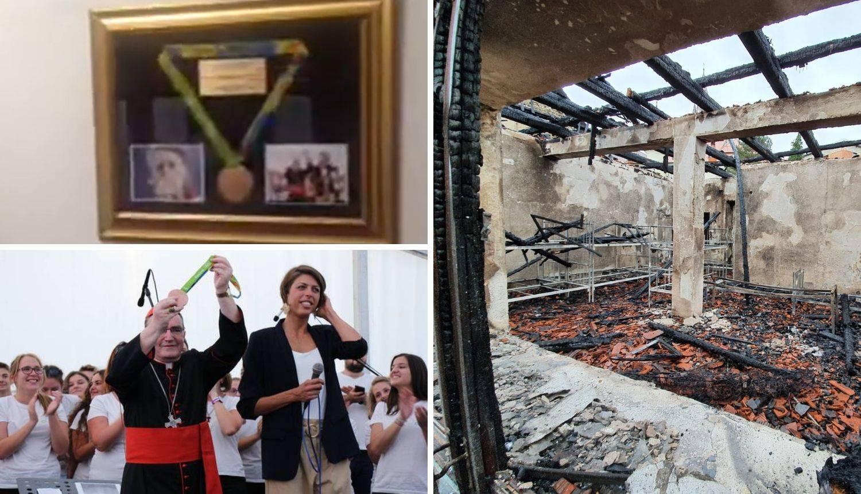 Blankina medalja s Olimpijskih igara preživjela požar u Mariji Bistrici: Darovala ju je 2016.