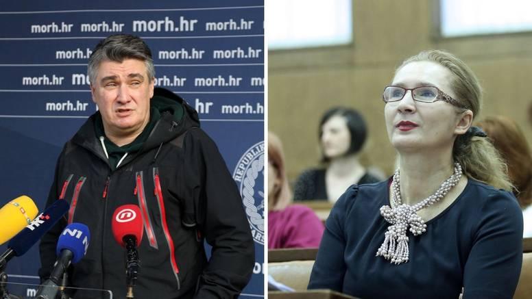 Milanović se okomio na Višnju Ljubičić: 'Oglasila se nakon dva dana, uplovila je u mandat'