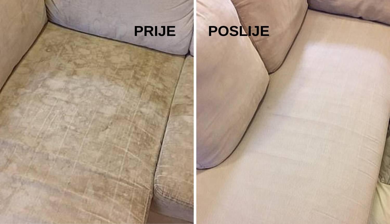 Super trik kako očistiti kauč i fotelje od mrlja - brzo i jeftino