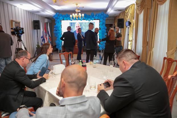 Izborni stozer nezavisnog kandidata za gradonacelnika Osijeka Berislava Mlinarevica
