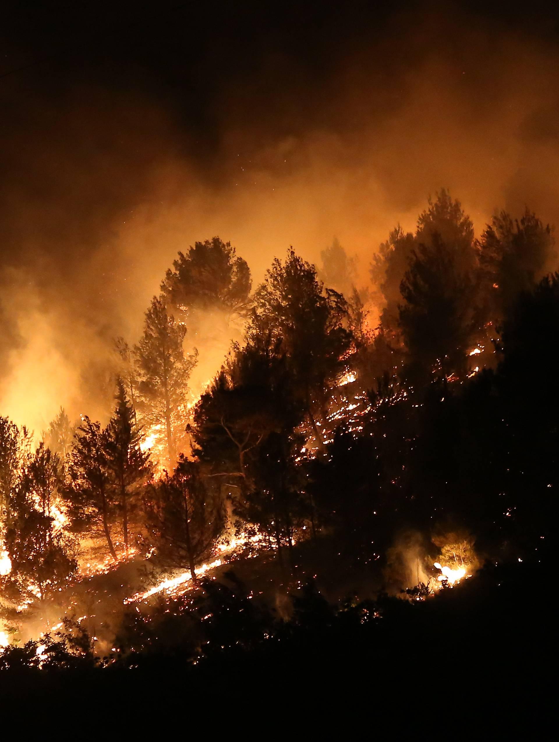 Požar kod Skradina lokaliziran, u posljednji tren obranili kuće