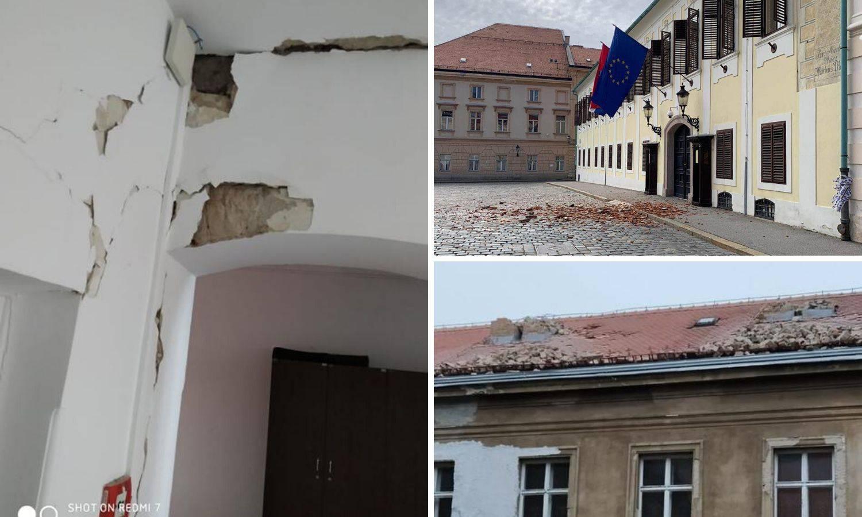 Velike štete u Saboru, sjednice će biti u Gradskoj skupštini