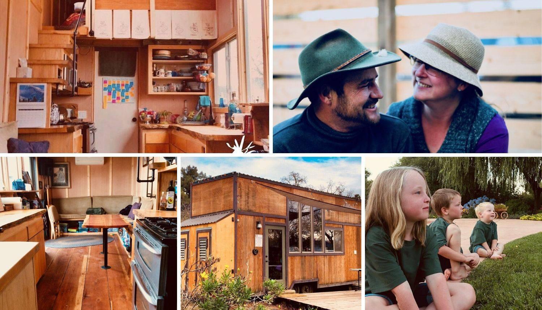 Obitelj s 3 djece živi u kućici od 28 kvadrata: 'Mi smo sretni'