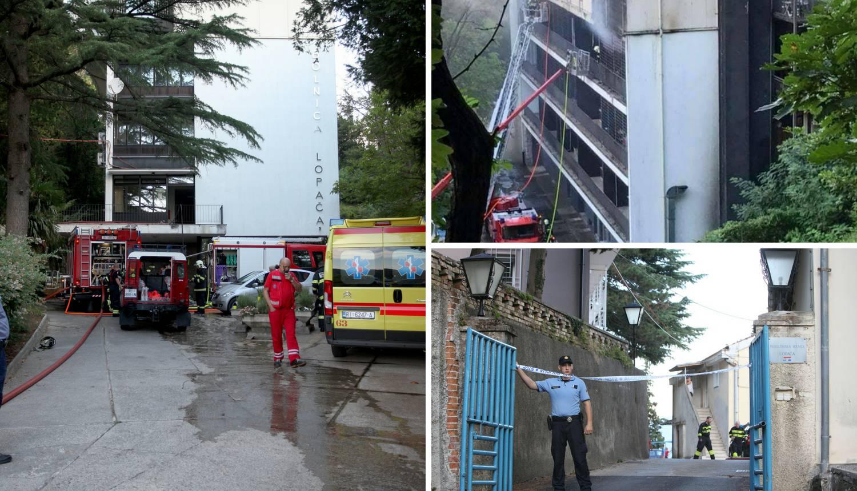 Medicinske sestre požar počele gasiti same, ali bio je prejak...