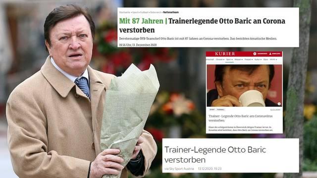 Austrijanci tuguju za Barićem: 'Počivaj u miru, Otto Maximale'