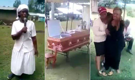 Na pogrebu izvrijeđala mrtvog supruga i napala mu ljubavnicu
