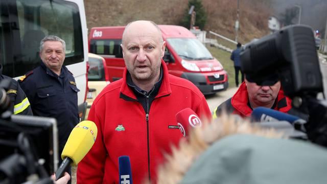 Premijer Andrej Plenković obišao mjesto tragedije i dao izjavu