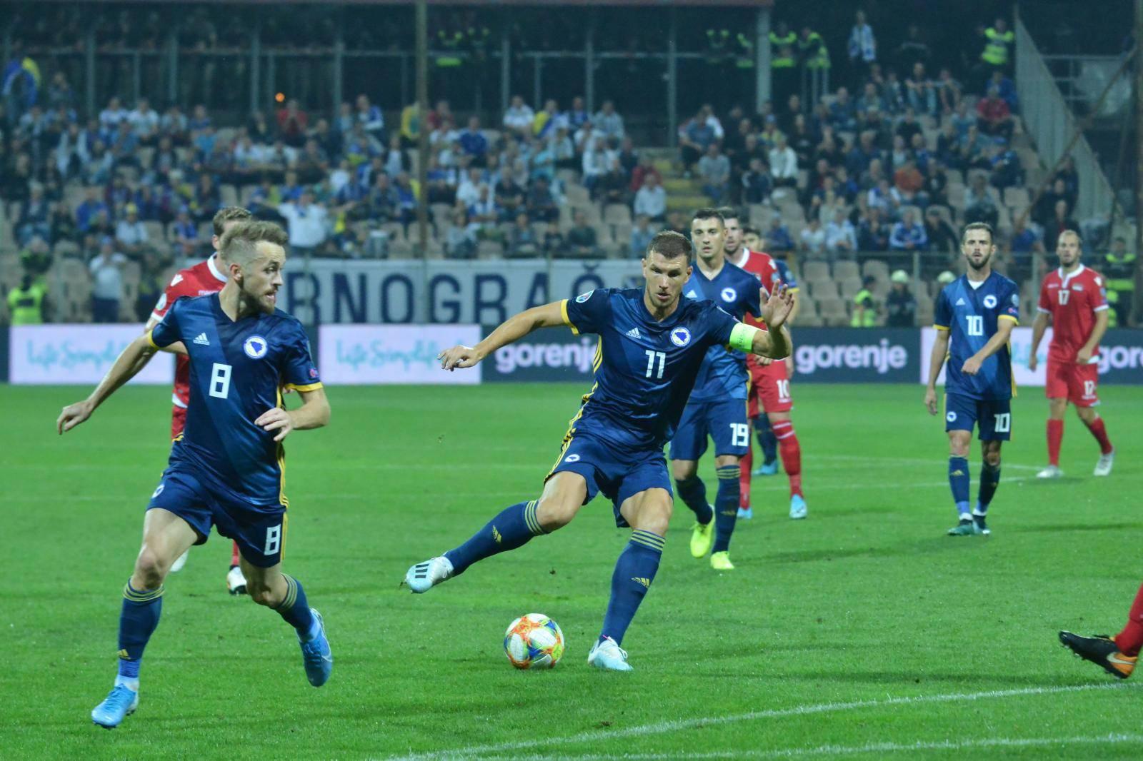 05.09.2019., stadion Bilino Polje, Zenica, Bosna i Hercegovina -