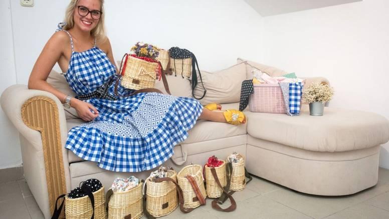 Slagala auto-dijelove i čuvala djecu, a sad šije odjeću i cekere