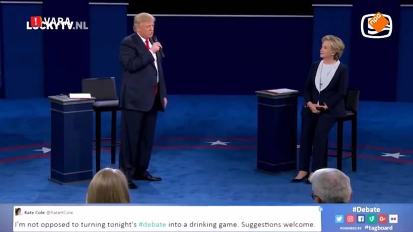 Parodija na debatu: Hillary i Trump otpjevali sučeljavanje