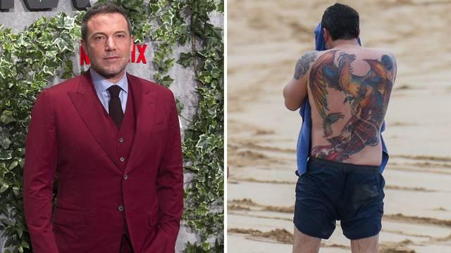 Affleck o divovskoj tetovaži: 'Lagao sam svima da je lažna'
