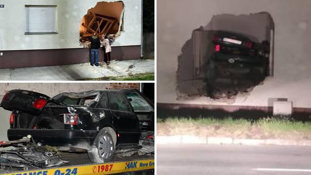 VIDEO Nesreća u Novoj Gradiški: Autom se zabio u kuću i poginuo