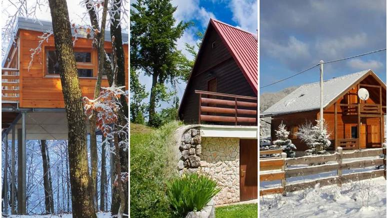 Posjetite čarobna mjesta u Hrvatskoj: Zamislite jedan zimski vikend u ovim kućicama