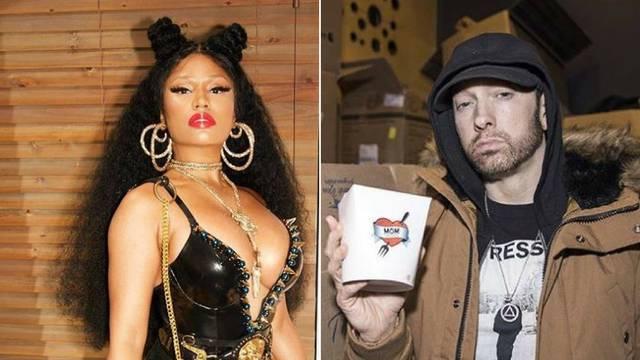 Minaj je u vezi s Eminemom: Odlučila je prekinuti 'celibat'