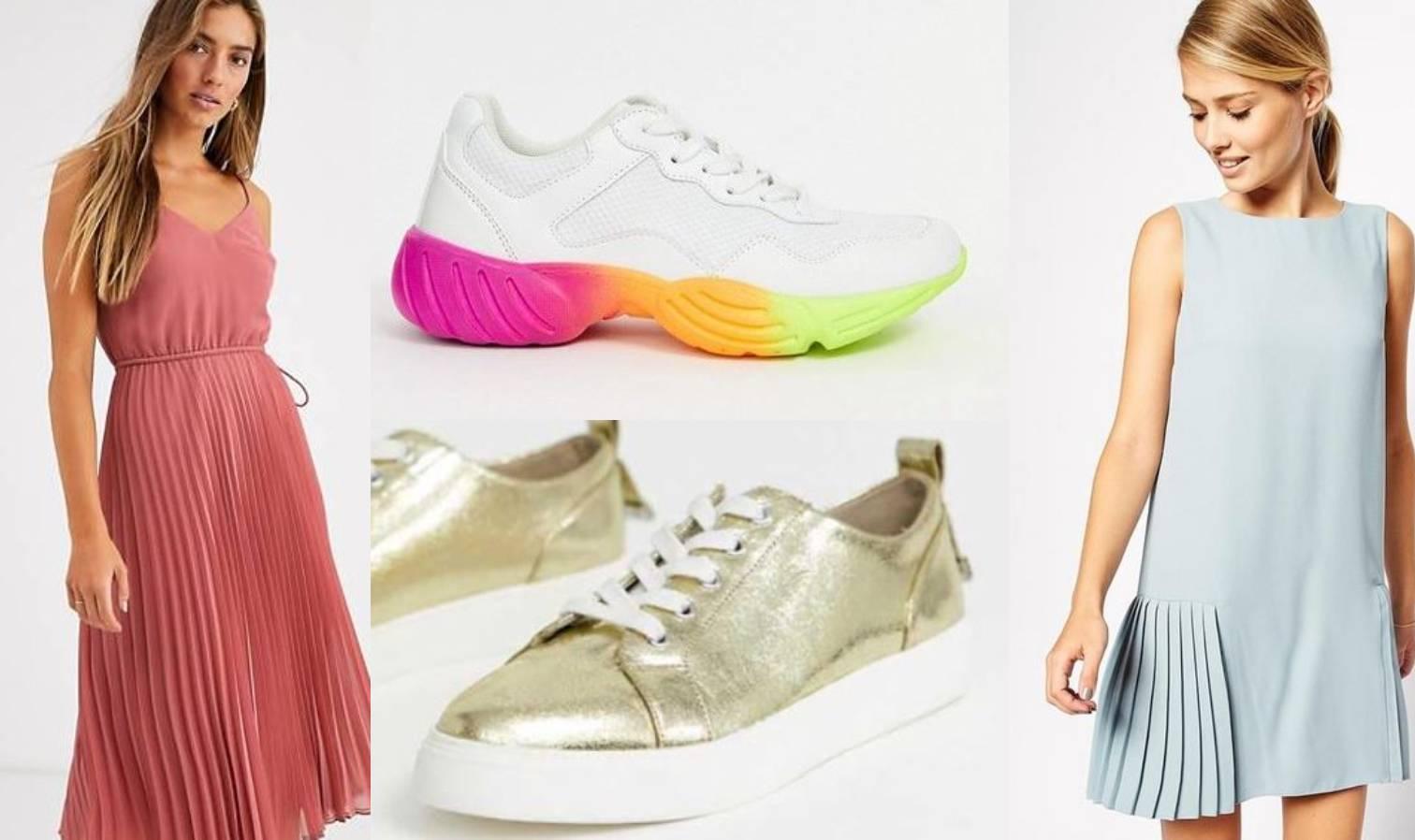 Samo ležerno: Tenisice i haljine u savršenoj stilskoj simbiozi