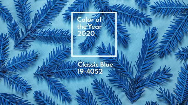 Pantone najavio boju za 2020. - obilježit će je 'klasična plava'