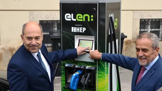 HEP je pustio u rad stotu punionicu za električna vozila