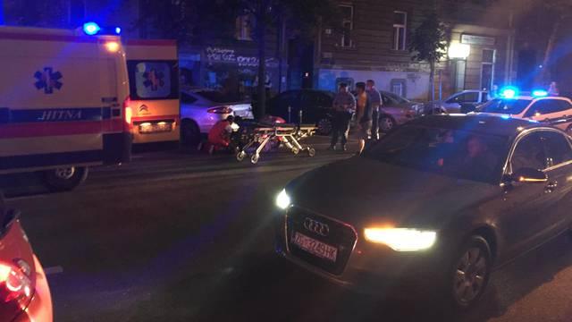 U središtu Zagreba u nesreći ozlijeđen motociklist