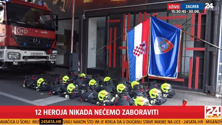 Vatrogasci diljem Hrvatske sirenama odali počast poginulima na Kornatu