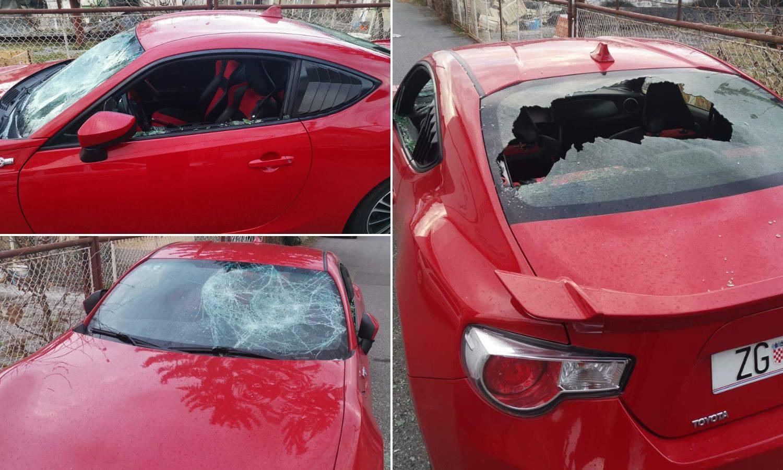 'Netko mi je razbio automobil, šteta je oko 40 tisuća kuna...'