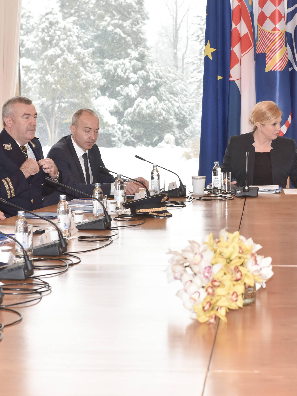 Održana je 13. sjednica Vijeća za domovinsku sigurnost