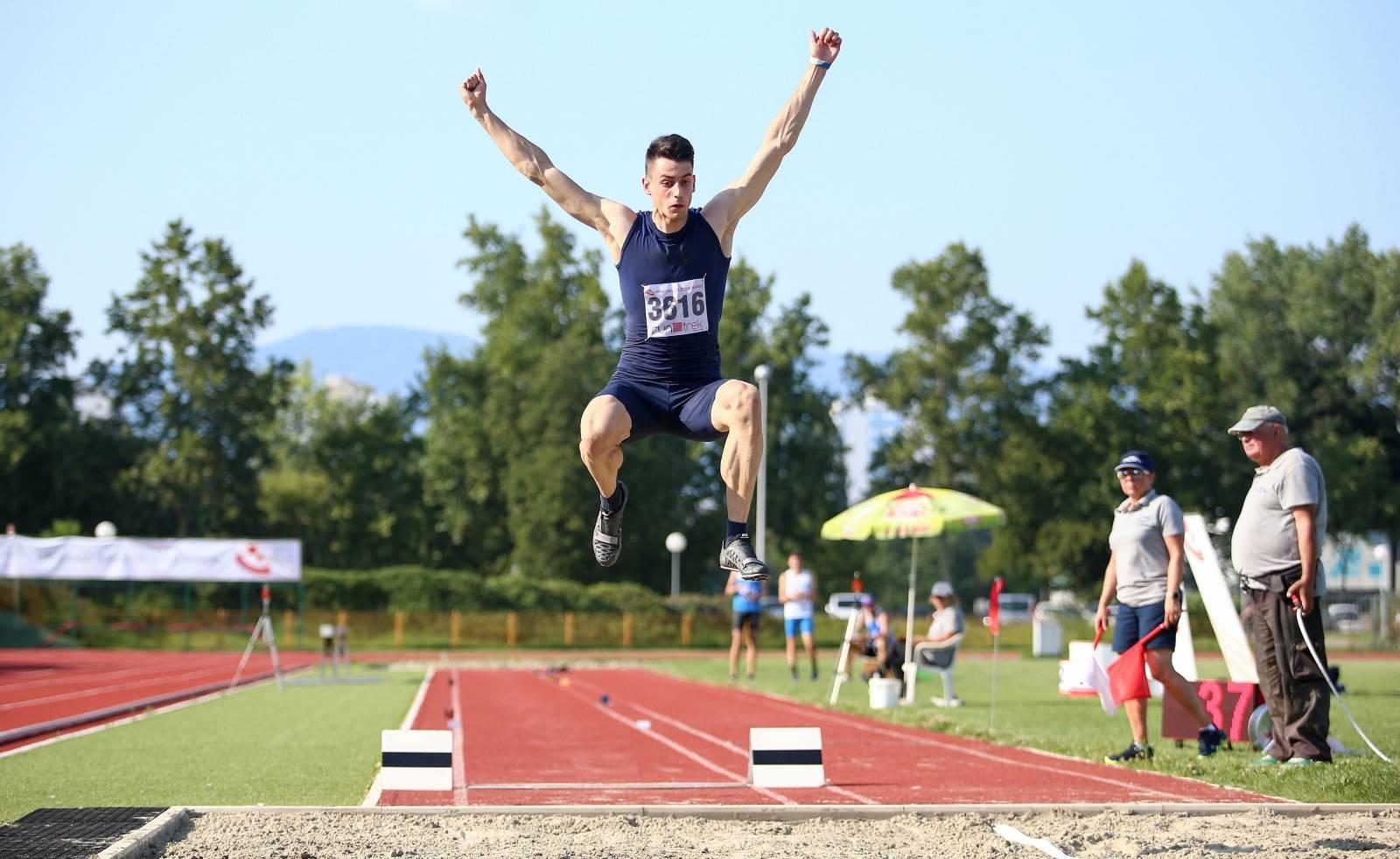 Zagreb: Prvi dan prvenstva Hrvatske u atletici