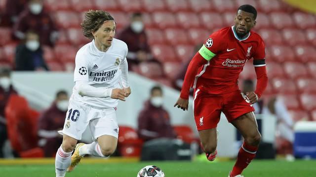 Champions League - Quarter Final Second Leg - Liverpool v Real Madrid