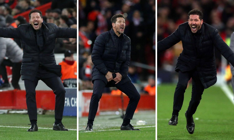 Simeone je u Ligi prvaka gubio samo kad je s druge strane CR!