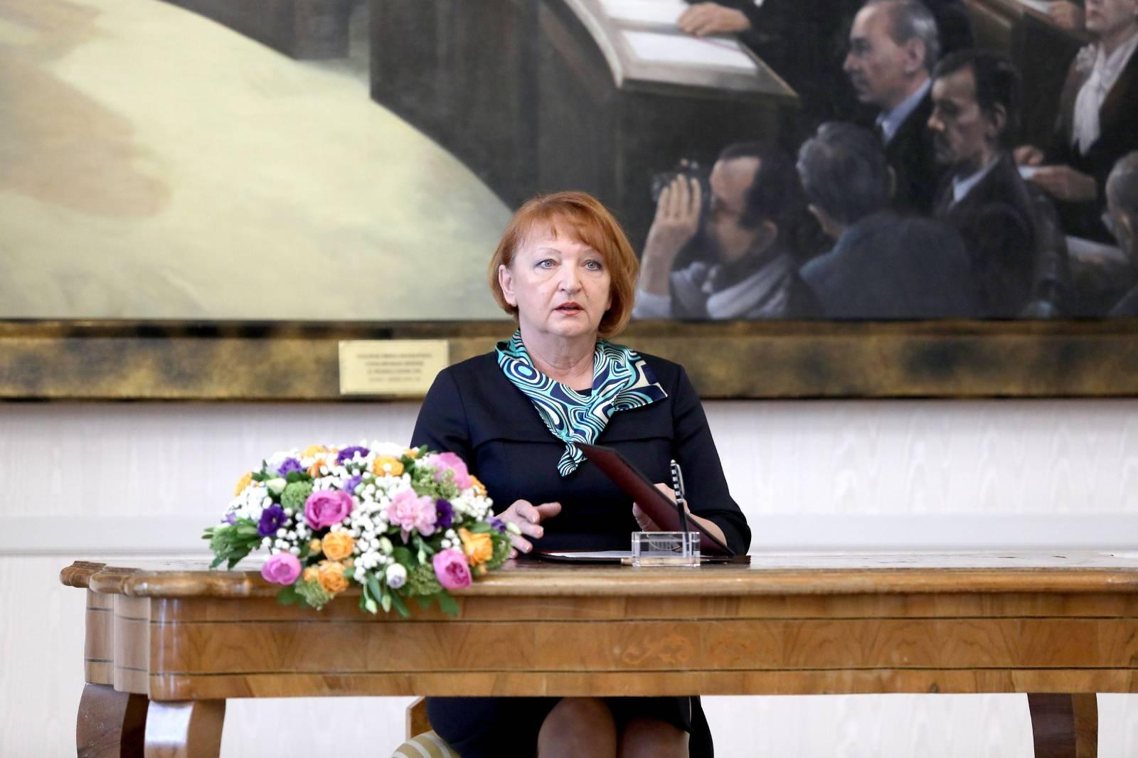 Zagreb: Nova državna odvjetnica Zlata Hrvoj-Šipek položila prisegu