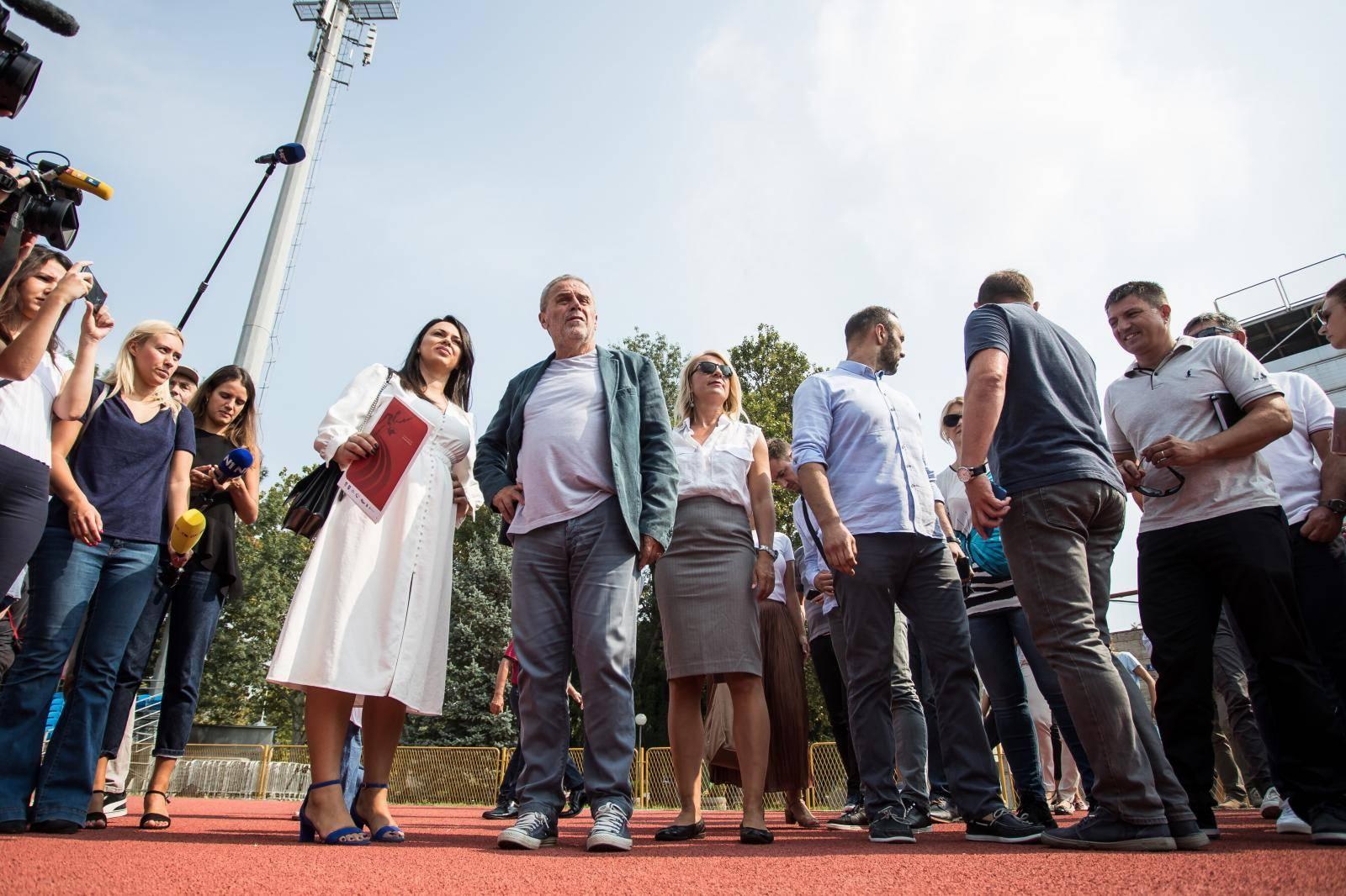 Zagreb: Obilazak atletske staze na Mladosti uoči Hanžekovićevog memorijala